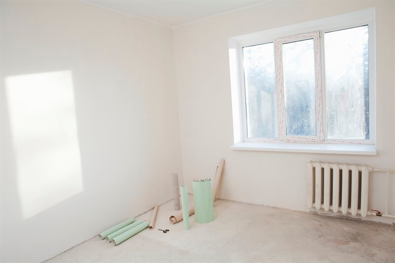 צביעת דירה 3 חדרים כולל תקרה