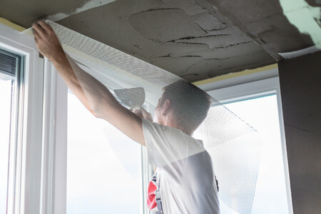 תיקון צבע בתקרה